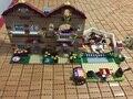 Nuevo 10170 Bela Amigos Serie Niñas Trabajo Doméstico Panorama conjunto mini Bloques de Construcción niña juguetes Compatible Leping 3185