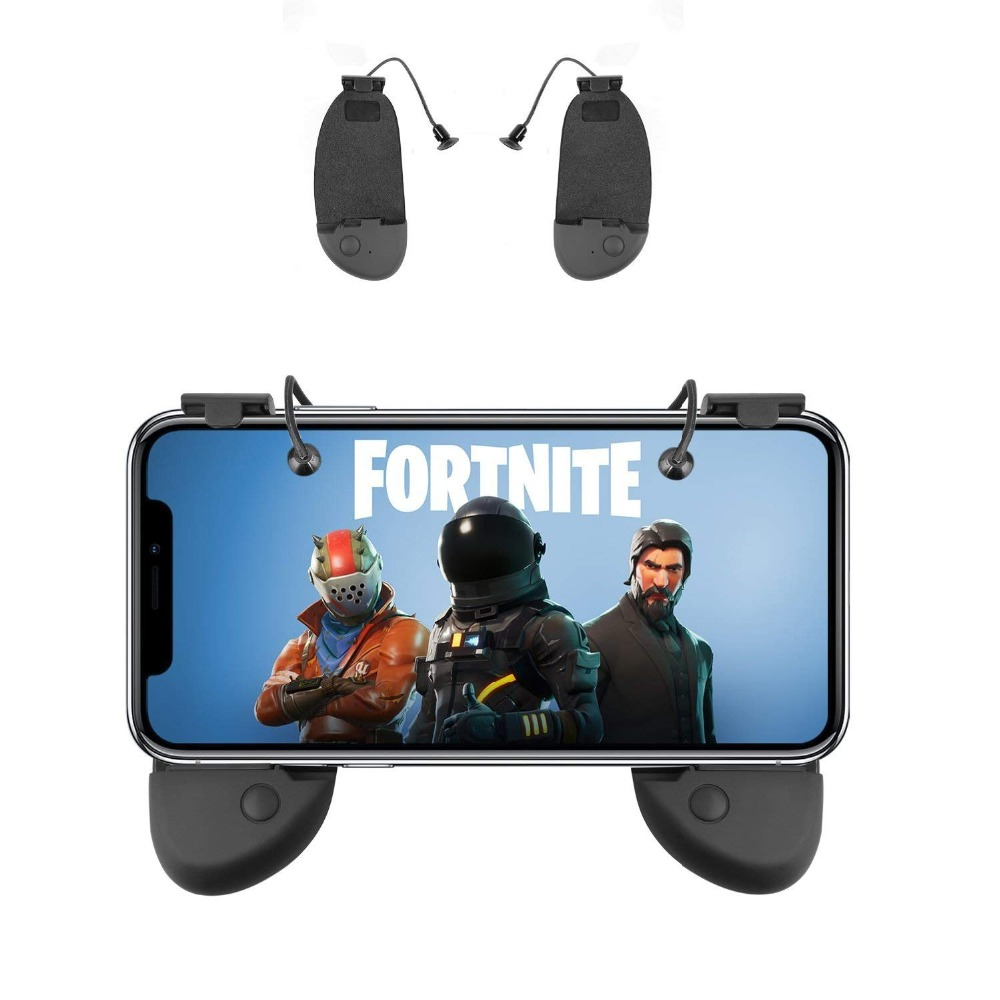 Mobile Phone Game Controller Sensitive Shoot And Aim Trigger Fire Buttons L1/R1 For PUBG Mobile/Knives Out/Rules Of Survival