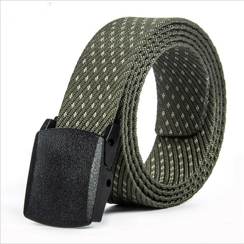 7270d553eff SupSindy POM Automatique Boucle En Nylon Hommes Ceinture pour jeans Nylon  tactique ceinture Militaire Toile Ceintures Haute Qualité Bracelet Noir 120  cm ...