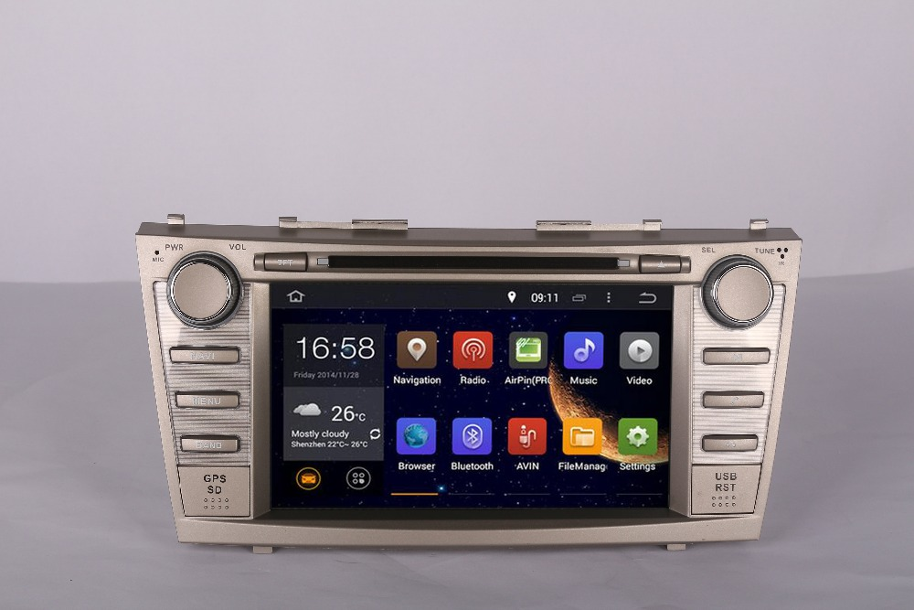 Octa/Quad Core Android Car DVD GPS Radio for Toyota Corolla Camry 2001 2002 2003 2004 2005 2006 NAVIGATIONNAVI GPS DVD STEREO