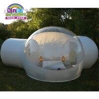 Надувные палатки Водонепроницаемый палатка ясно пузырь надувная палатка для рождественские украшения