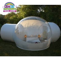 Inflatable tent waterproof camping tent clear inflatable bubble tent for Christmas decorations