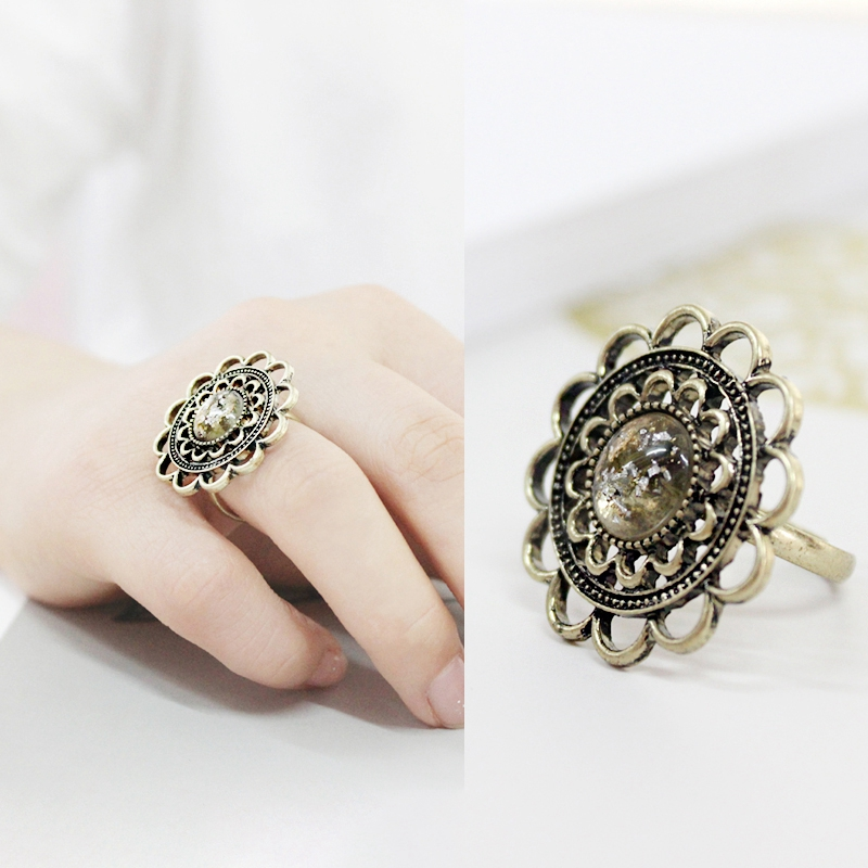 Anime Sailor Moon Hollow Out Vintage Ring Jewelry Gift New