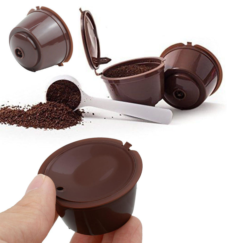 1Pc Refillable Dolce Gusto Coffee Capsule Nescafe Dolce Gusto Reusable Capsule Dolce Gusto Capsules