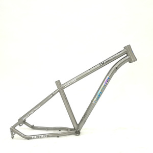 Image 5 - Twitter Werner Titanium Frame Mtb Bicycle Frame Thru axle 12*142mm 27.5er 29er Aviation Titanium Alloy 15.5 17 19 Bikes Frame