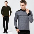 2016 Winter New Arrival Fashion Men's O- Neck Mink cashmere sweater thicken warm men pullove soft men sweater plus size