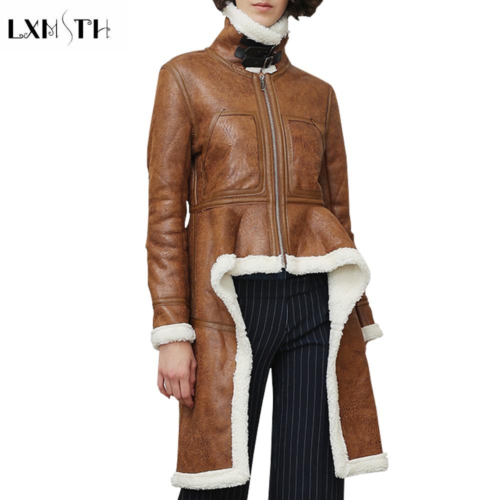 Lxmsth Coréenne Faux Nouvelle Veste Manteau Vestes Fashion Col Roulé Bf4qwgE