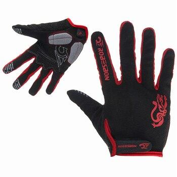 GEL-guantes de ciclismo de dedo completo para hombre, manoplas antideslizantes para ciclismo...