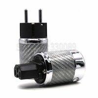 Бесплатная доставка пара Ultimate ЕС Версия Мощность разъем для аудио Мощность plug