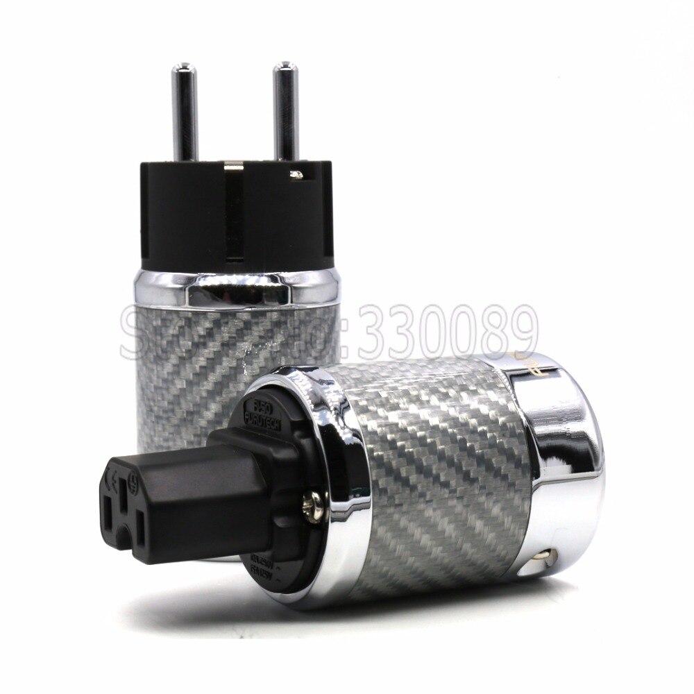 Livraison gratuite Paire Ultime UE version Connecteur D'alimentation pour audio plug power
