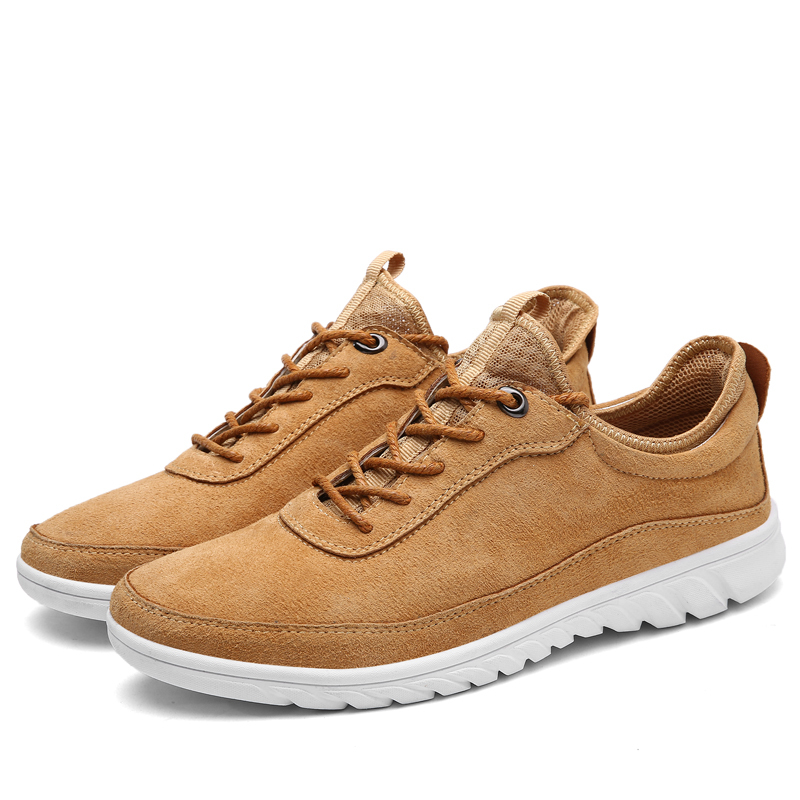 2018  New Arrival Men City Jogging Daily Lifestyle Sneaker Solid Colors Brown Color Male Spring Autumn Footwear On Discount2018  New Arrival Men City Jogging Daily Lifestyle Sneaker Solid Colors Brown Color Male Spring Autumn Footwear On Discount