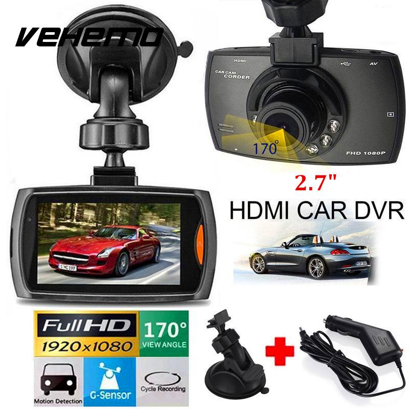 2018 Car DVRs Camera Dash Cam Full HD 1080P Recorder Video Registrar Night Vision Blackbox Carcam Dash Camera Support TF Card