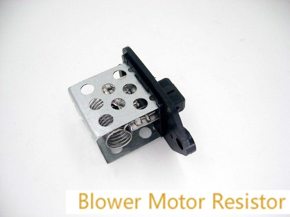 406 Partner Heater Resistor Blower Fan