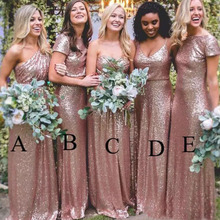 Buy gold sparkly bridesmaid dresses and get free shipping on AliExpress.com c4363df632ce