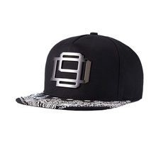 944c288332f New Hip Hop Caps for Men Metal Swag Hiphoper Snapback Hat BBoy Spin Hat  Men s Baseball