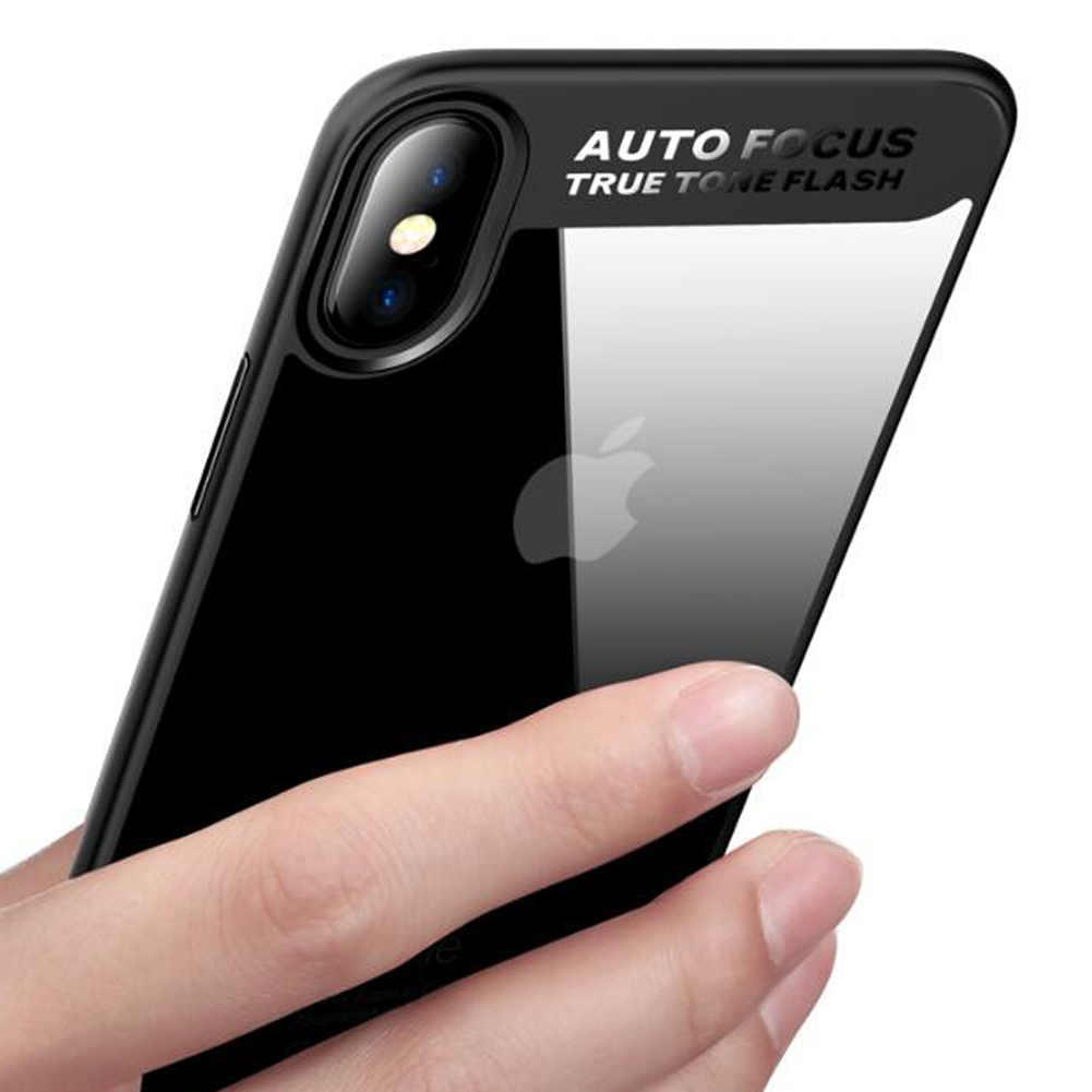 Mayround For iPhone X Ten 10 Case Luxury Hybrid Clear 360 Degree Shockproof Silicone+Crystal Acrylic Armor Case Cover