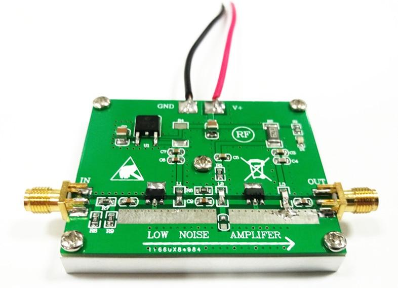 1W 10M-1GHz 40dB RF power amplifier broadband RF power amplifier Low noise