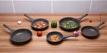 20 22 24 cm koekenpan steen titanium pot algemene inductie fornuis Gebakken beaf eieren bakplaten en grill geen stok ontbijt pan