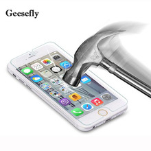 0.26mm for iPhone 5S Tempered glass for iPhone 6 6S 7Plus Screen protector glass film for iPhone 5 SE 5C 4S Explosion-proof film
