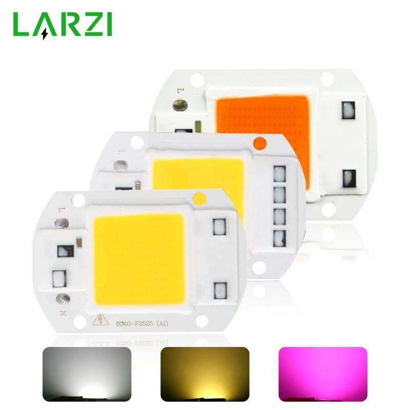 LED COB Lamp Chip AC 220V 110V LED Flood Light Bulb Chip 10W 20W 30W 50W Diy Spotlight Floodlight Lampada Grow Plant Light Chip