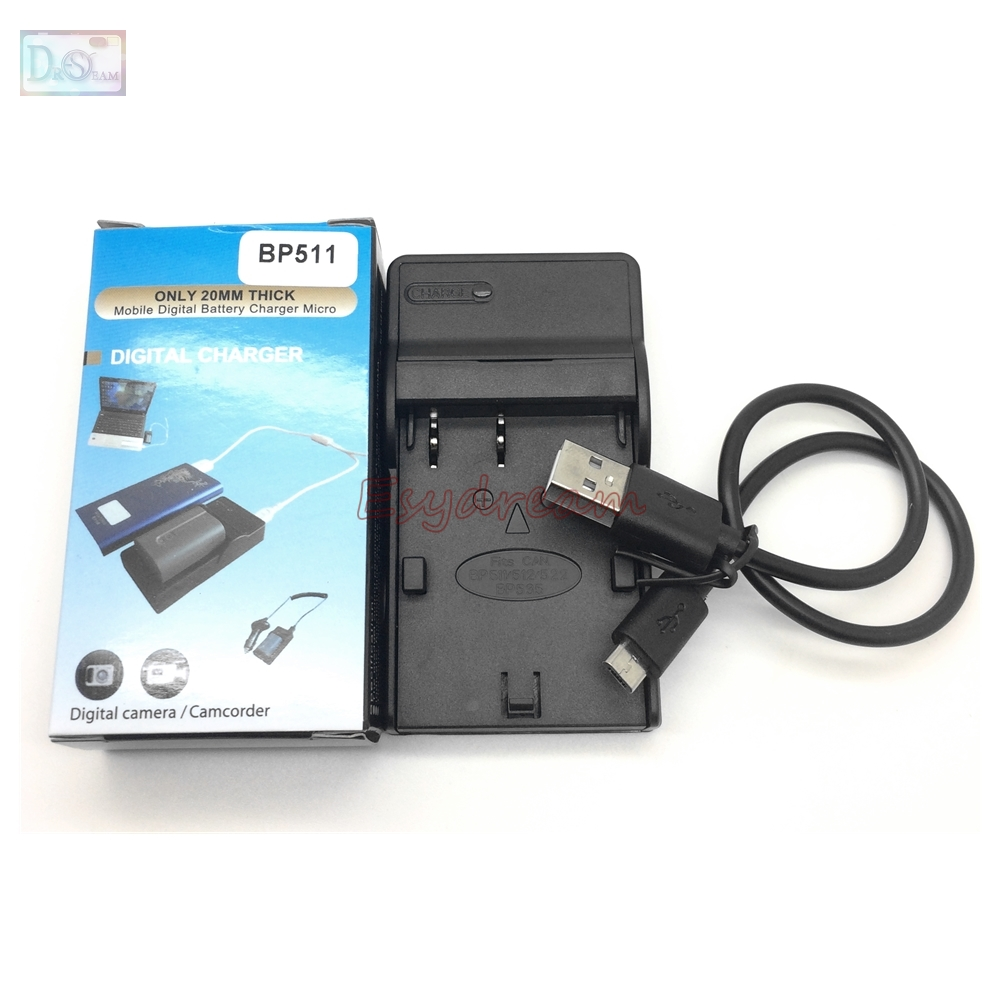 CB-5L CB 5L USB Charger for Canon BP508 BP511 BP511A BP512 BP512A BP522 BP535 Battery Digital Camera EOS 5D 50D 10D 20D 30D 40D bp 511 bp511 camera battery 1x charger for canon eos 30d 20d 10d 300d d60