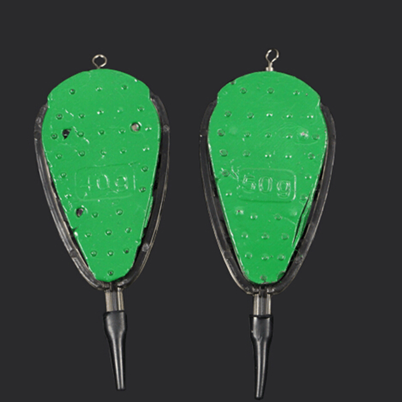 20g-100g Accessories Fishing Feeder With Mould Carp Lead Sinker Method Bait  Lure