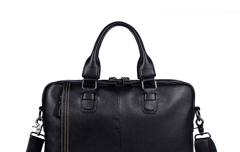 Treu Männer Aktentaschen Anwalt Echtem Leder Handtasche Vintage Laptop Aktentasche Männlichen Computer Schulter Taschen Casual Männer Tasche Dokumente Herrentaschen