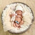 Ребенка капот новорожденной девочки вязать новорожденные-большая шляпа, Новорожденных реквизит, Новорожденный эльф detskaya shapka