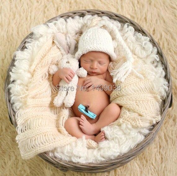 Baby bonnet newborn girl knit newborn hat newborn props newborn elf detskaya shapka