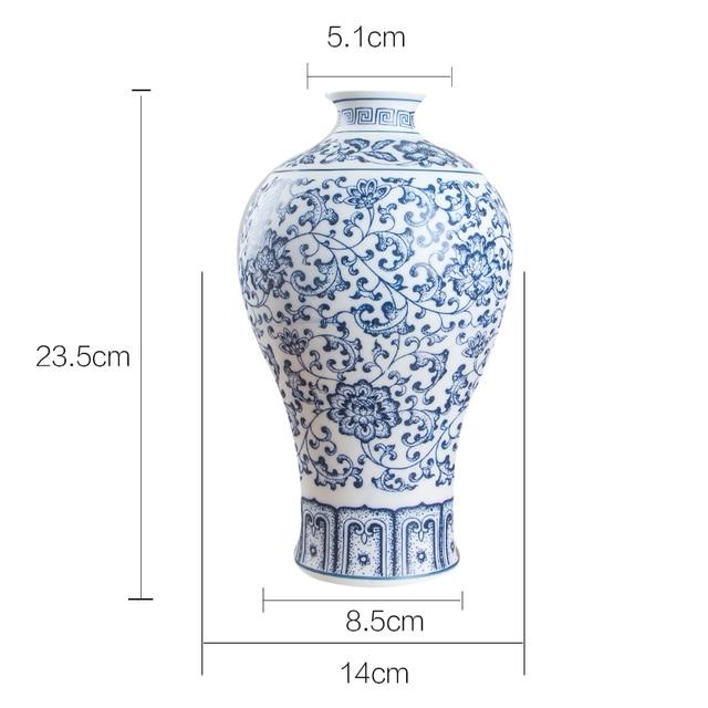 Interlocking Lotus Porcelain Flower Vase - Home & Garden