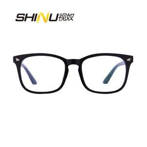 Image 4 - 抗ブルーレイ多焦点プログレッシブ老眼鏡女性男性リーダー UV400 抗疲労参照遠参照近く視度眼鏡
