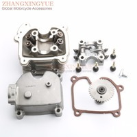 Racing Quality 4 Valve Cylinder Head Kit & Cam & Rocker & Cylinder Head & Bolt for GY6 152QMI 157QMJ GY6 125 150 GP110 SCOOTER