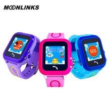 Moonlinks DF27 gps Плавание Телефон smart watch для детей яркие цвета для девочек часы Безопасный Anti-Потерянный монитор smartwatch android
