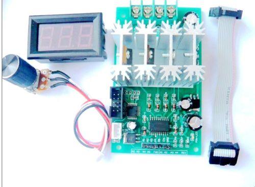 Digital 30A H bridge DC 9v 12v 24v motor speed controller PWM PLC Reversible