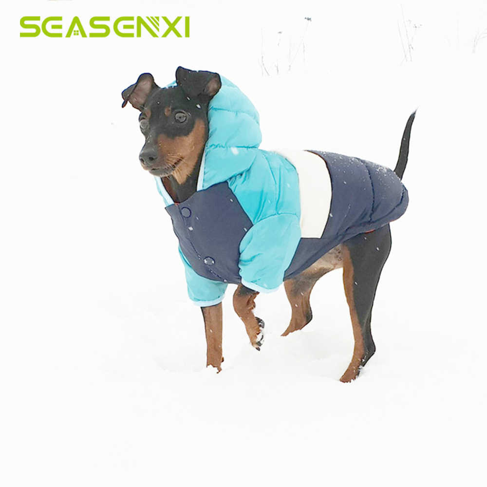 Winter Pet Clothes For Dogs Chihuahua Warm Waterproof Dog Clothes for a Dog Jacket Coat Down For Puppy Small Medium Dogs Pug