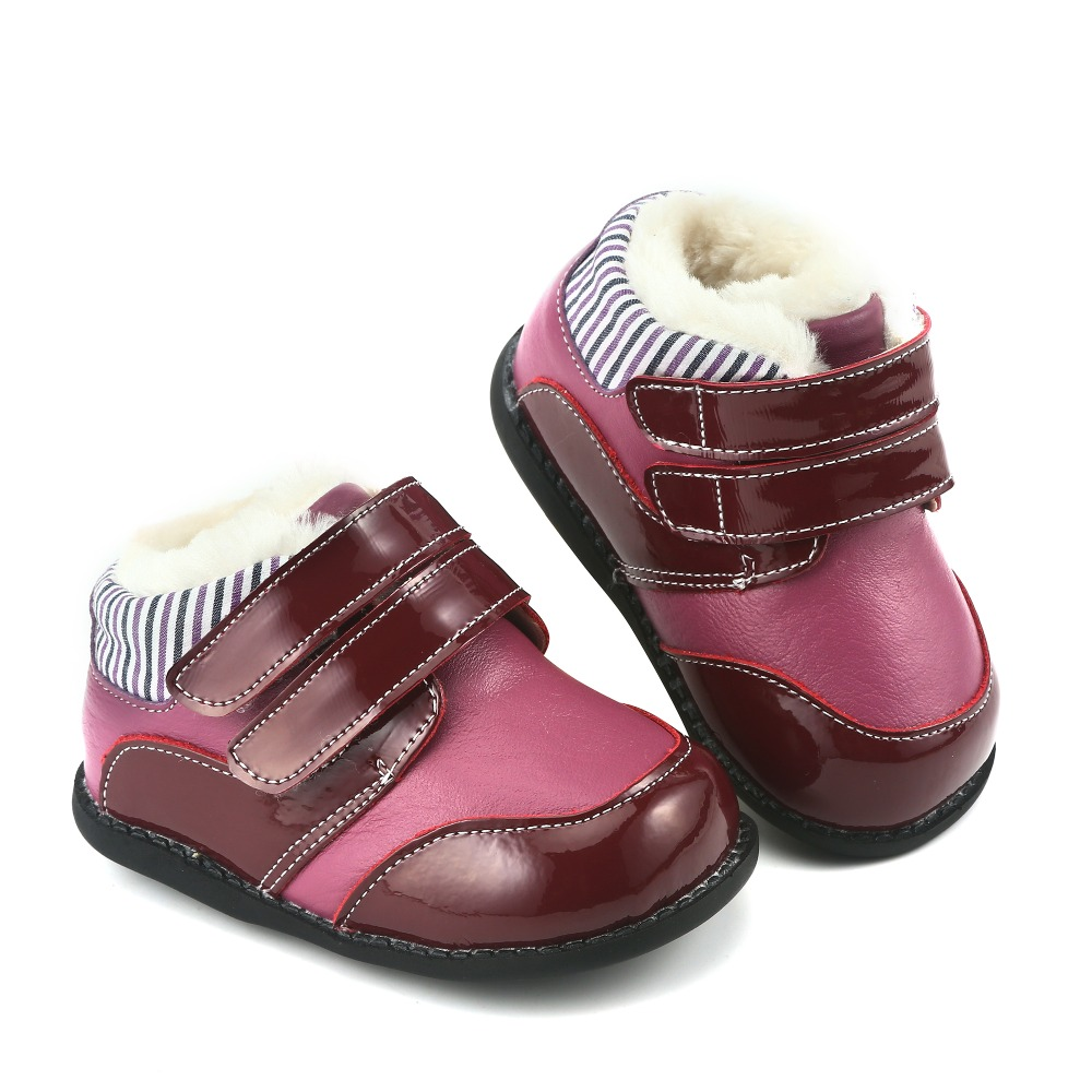 Tipsie toes Childrens shoes autumn and winter 2018children Korean version of Martin boots leather fashion snowankle boots ...