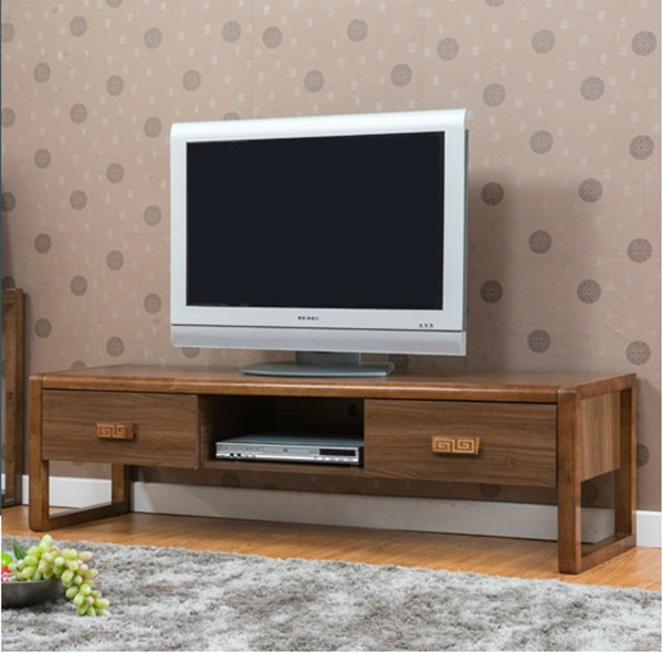 Cheap 1.6 m living room TV cabinet solid wood cabinet LCD TV cabinet ...