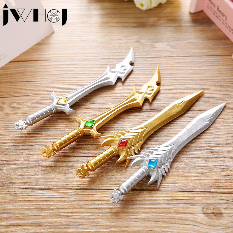 1 x Creative weapons knife and sword gel pen writing pen stationery office school Writing supplies stationery child's toy gifts