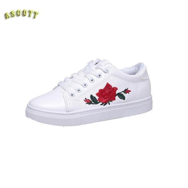 Étoiles Avec Le Rose, Blanc Chaussures, 2017 Automne Nouvelles Chaussures D  étudiant, 2b4f8578c9f7