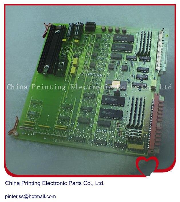 Hengoucn CPC encre compatible ADC carte d'échantillonnage MWE 81.186.5385, 00.781.1076, 00.781.2107