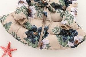 Image 5 - Chaquetas de invierno para niños con capucha y cremallera, abrigo de algodón con estampado con relleno, 2 a 9 años