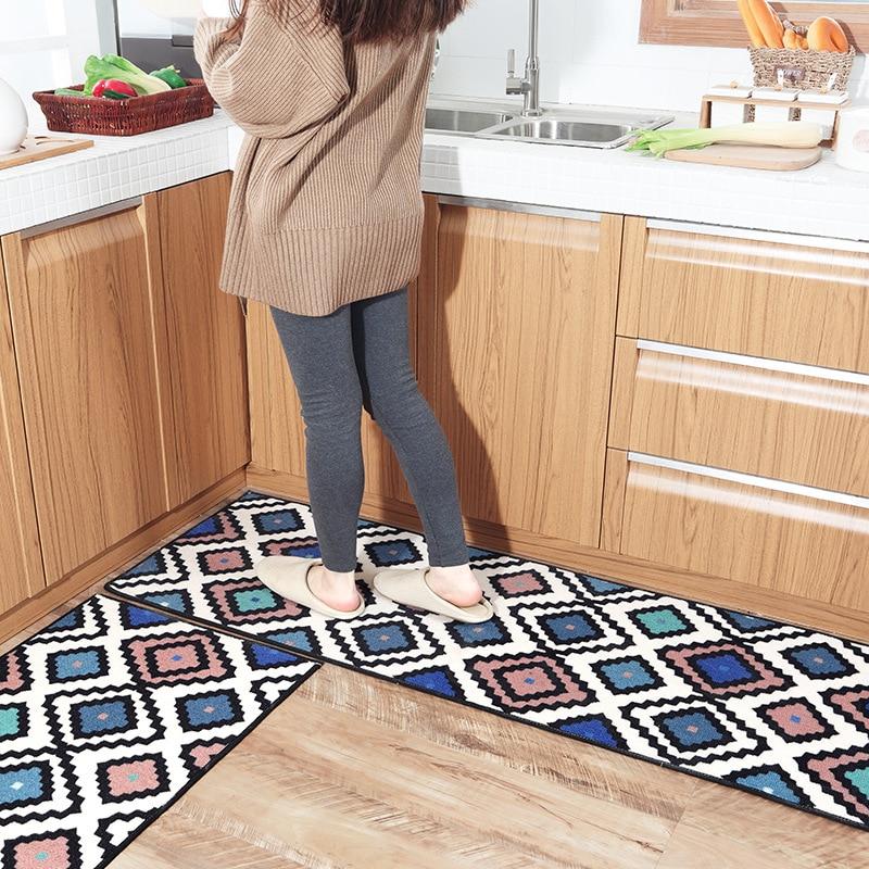 Long Nylon tapis de cuisine accueil entrée/couloir paillasson anti-dérapant salle de bain tapis balcon/baignoire tapis moderne mode tapis de cuisine