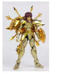 CS Saint Cloth Myth EX Saint Seiya: Soul of Gold Action Figure Alloy Libra Dohko GOD CLOTH
