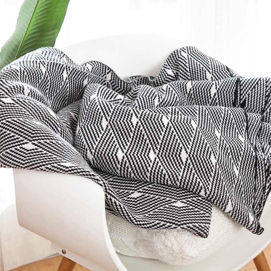 Throw Blanket Summer Cotton Soft For Baby Sofa