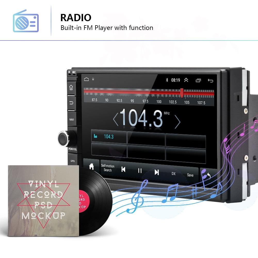 AMPrime 2 Din Auto Radio 7