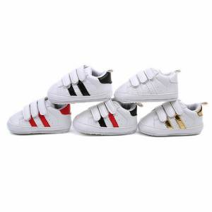 Sports-Shoes Sneakers Soft-Sole Girl Infant Baby 0-18month Boy Autumn DHL 50pair