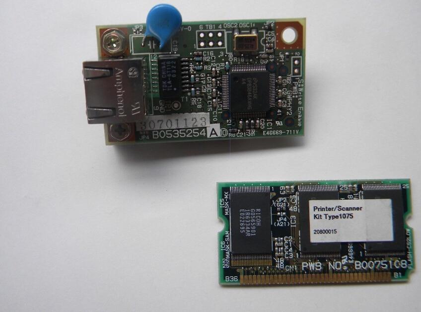 FOR RICOH 1075 NETWORK CARD PRINTER SCANNER KIT TYPE 1075 B0075108 B0535254