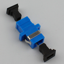 цена на 300pcs New SC fiber optic adapter,SC flange coupler, SC/UPC adaptor, fiber coupler for digital communications