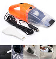 Portable car vacuum cleaner wet and dry dual use with power 60W 12V 5 meters of cable, super absorb car waste, freeshipping