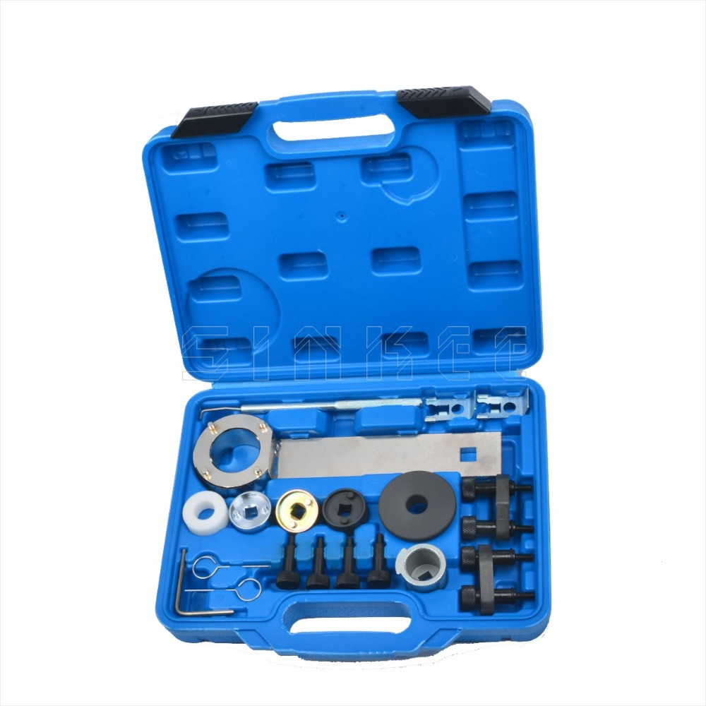 Engine Crankshaft Timing Tool Kit For VAG 1.8 2.0 TSI/TFSI EA888 For VW AUDI T10352 T40196 T40271 T10368 T10354 T10355 SK1774 engine timing crankshaft locking setting tool kit for vw audi seat skoda vag 1 6
